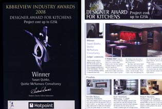 Kitchedn designer awards